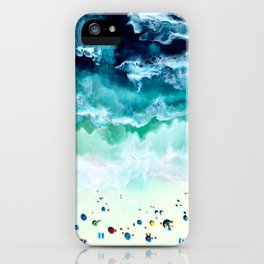 Aerial Beach iPhone Case