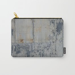 Warehouse District -- Rustic Industrial Farm Chic Abstract Carry-All Pouch