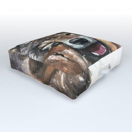 Wolf - Father and Son Outdoor Floor Cushion