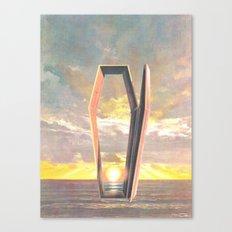 At Long Last (Death At Sea) Canvas Print