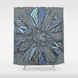 Ice Star Anytime Shower Curtain