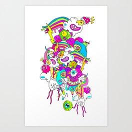 #LEVELUP Art Print