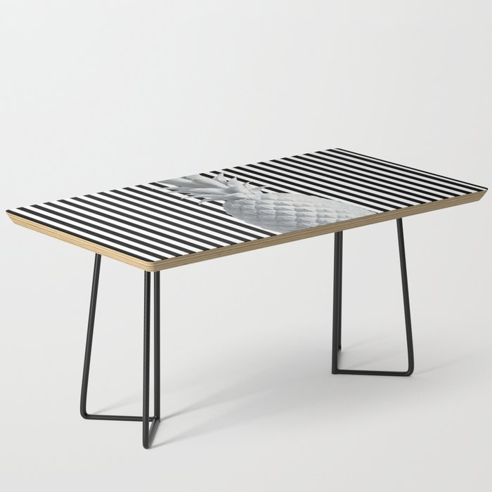 save off f466e e1eee Black and White Anana | #society6 | Pineapple Coffee Table by azima