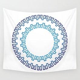 Runa in shades of blueRuna in shades of blue Wall Tapestry