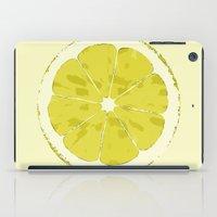 lemon iPad Cases featuring Lemon by Avigur