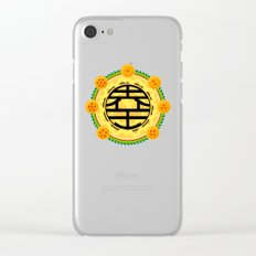 Goku's Kanji Clear iPhone Case