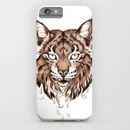 Iberian Lynx: Drifting iPhone Case