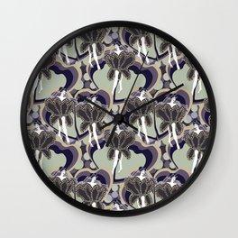 deco dancers Wall Clock