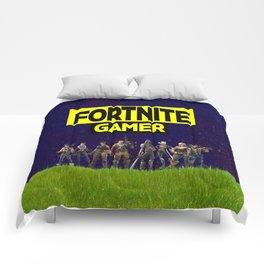gamer design for online gamers Comforters