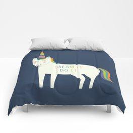 Dream It Do It Comforters