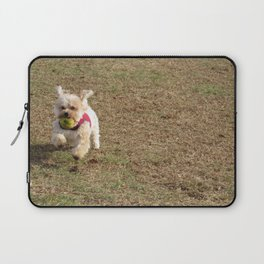 Copper running at the park Laptop Sleeve