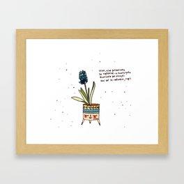 It's spring time Framed Art Print