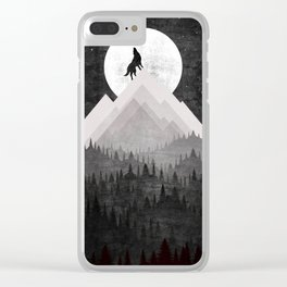 WOLF XL Clear iPhone Case