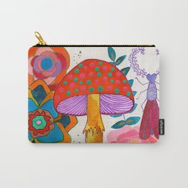 Gathering Story Seeds Carry-All Pouch