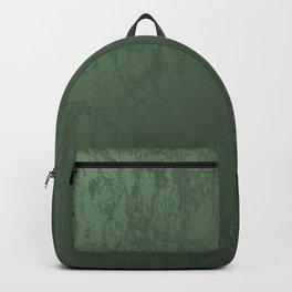 Velvet in Green Backpack