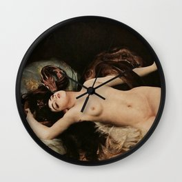 La Serpent (Salammbô), Gabriel Ferrier. Wall Clock