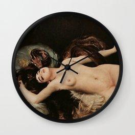La Serpent (Salammbô), Gabriel Ferrier. Wall Clock
