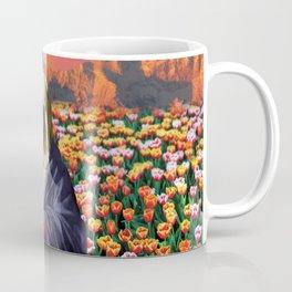 Psychedelic Garden Coffee Mug