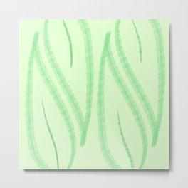 Leafy Green Metal Print