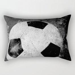Unique soccer art vs 1 urban art Rectangular Pillow