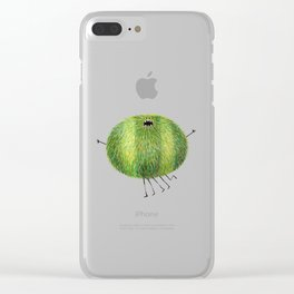 Poofy Alphonz Clear iPhone Case