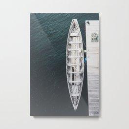 Fisherman's Boat Metal Print