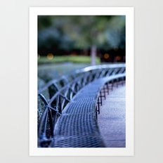 Twilight in New Orleans Art Print