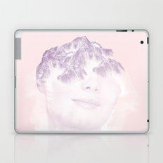 head in the mountains Laptop & iPad Skin