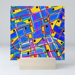Meta-Urban Space Mini Art Print