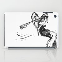 kingdom hearts iPad Cases featuring Roxas KINGDOM HEARTS by DarkGrey Heroine