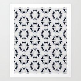 Inverted Vertebrea Art Print