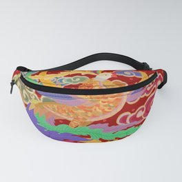 Viet Spirits and Patterns Collection: Phoenix Fanny Pack
