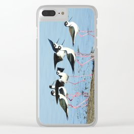 Hanging With Friends Clear iPhone Case