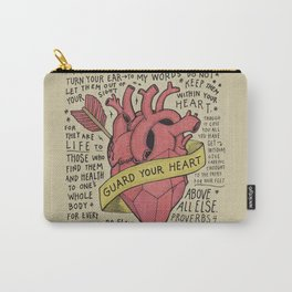 Guard Your Heart Carry-All Pouch