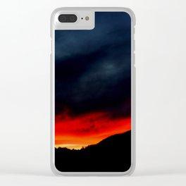 Australian Sunset in Summer Clear iPhone Case