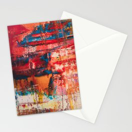 Abstract Creation Stationery Cards