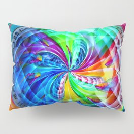 Abstract in perfection - Time is running Pillow Sham