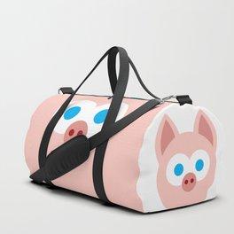 Funny Cartoon Piggy - Professional Design Duffle Bag