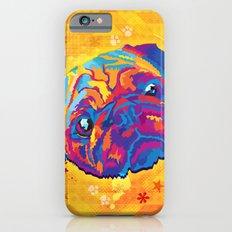 pop art pug iPhone 6s Slim Case