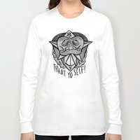 treat yo self Long Sleeve T-shirts featuring TREAT YO SELF by Josh LaFayette