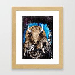 The Trance Doctor Framed Art Print