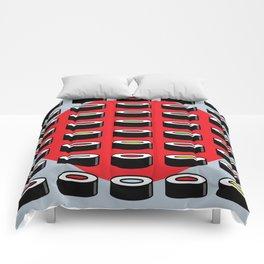 Abstract Sushi Art Comforters