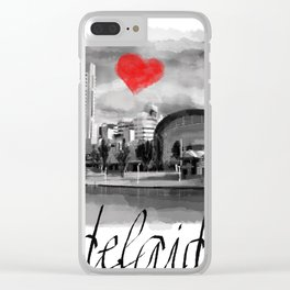 I love Adelaide Clear iPhone Case