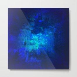 Blue Omni Metal Print