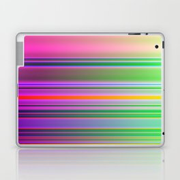 Bright Colorful Lines Fade Laptop & iPad Skin