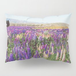 Colorful Flower Meadow New Zealand Pillow Sham
