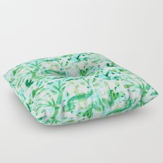 Abstract Jungle Floor Pillow