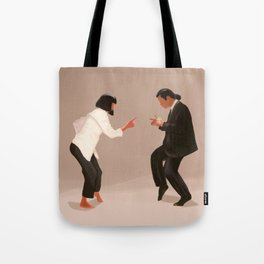 Pulp Fiction Twist Tote Bag