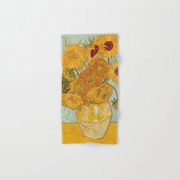 Van Gogh Sunflowers Hand & Bath Towel