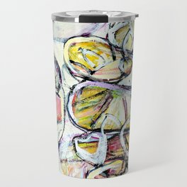 'colorful circle brittmarks' Travel Mug